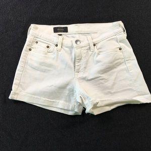 J.Crew Womens White Cut-Off Shorts 25 A90:02033
